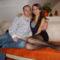 Imre fiam a barátnőjével Diával