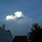 Felhő a város felett