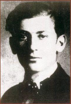 Radnóti Miklós fiatalon