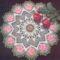 1950-böl való amerikai minta vad rózsás