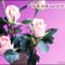 3 szál rózsaszín rózsa