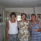 A Szabó lányok balról-jobbra:Keresztanyám,Jutka néném,és Anyukám