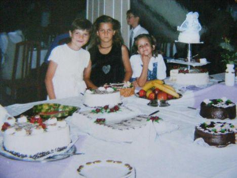 Rita,Detti és Én....nagyon régen..