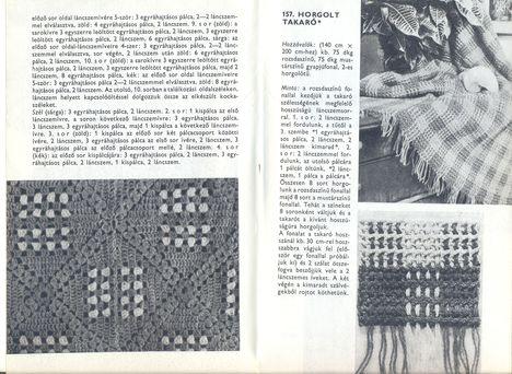 kockabetétes és kockás takaró