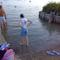 séta a vízben.:)