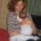 Egy boldog anyuka Judit&Dániel