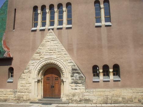 Kolozsvár 5  u.n. Kakasos templom, bejárata