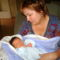 Az első mama pillanat itthon