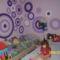 A lányok szobájának fala