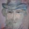 portré akvarell