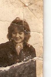 Pozsgai Judit, kb.13 évesen
