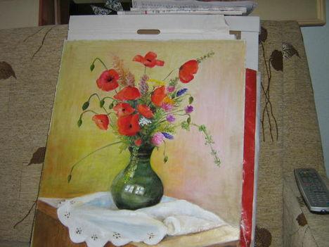 Pipacsok vázában