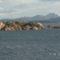A kis szigetek a hajorol,utban Maddalena fele