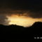 Szardinia,vihar elött este