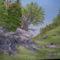 Sziklás táj- Vászon-akryl-30x40