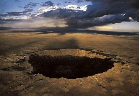 A híres arizónai meteorkráter