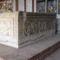 Szent István király szarkofágja, a székesfehérvári mauzóleumban