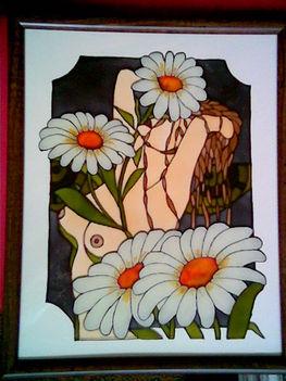 virágok közt