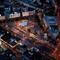 Moszkva tér éjjel madártávlatból