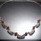 Karneol - tibeti ezüst nyakék
