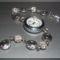 Strasszos - tibeti ezüst óra