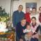 Családi kép unokával,idősebbik lányunk nélkül.