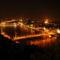 Budapest látkép este