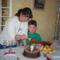 Lányom és unokám szülinapja