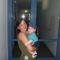 barátnőm kisfiával