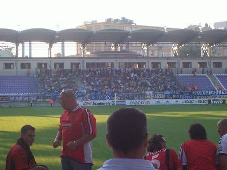 Kispest Honvéd - Hamburger SV