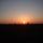 naplemente, felhők