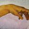 Michelangelo B.:Ádám keze-közeli kép-másolat