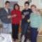 A két fiú unokával és lányommal
