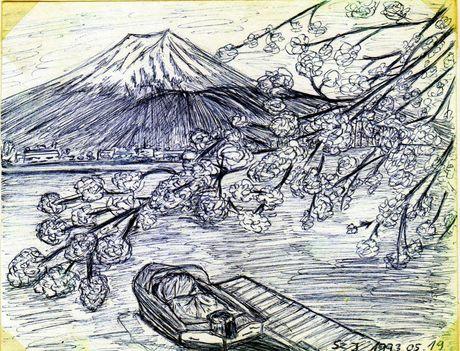 Fuji vázlat