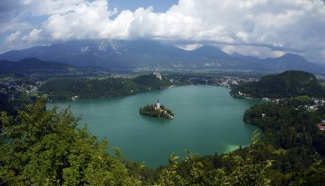 Bled tó, Szlovénia