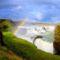 Gullfossvízesés, izland