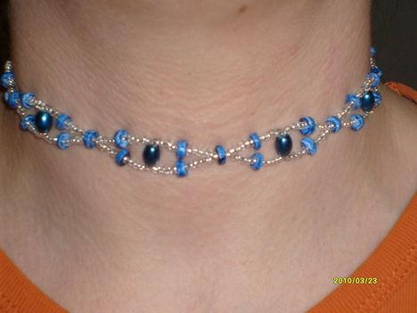 Kékszem nyaklánc