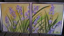 Párosan-Dekorativ 40x40 akryl-vásznon.