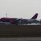 Wizzair A320-200 landolás