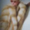 Modern vonalu szőrmebundák 18 - Róka bunda ( gold platinium fox )