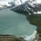 Portage gleccser, 2004