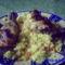 Bajor csirke sáfrányos rízzsel