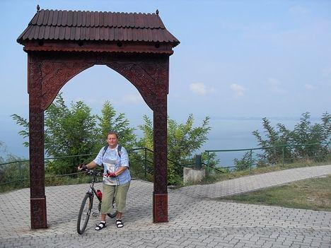 Balatonvilágos - magaspart a Balaton legmagasabb pontja!