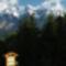 Dachstein,    ( Untertálból nézve)