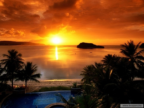 Agana-öböl,Tamuning-Guam-szigete