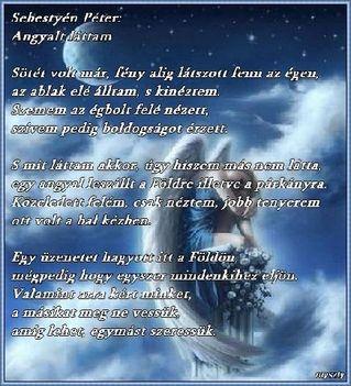 angyalt láttm ,Vers