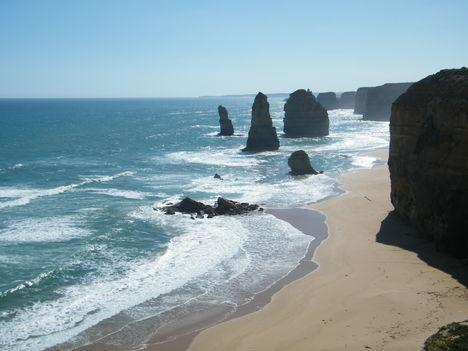 GREAT OCEAN ROAD 12 APOSTOL sziklái