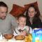 Judit lányom és családja