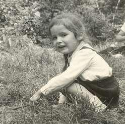 1. Én 4 évesen a Bakonyban