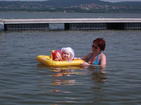 Virág először a Velencei tóban. 4